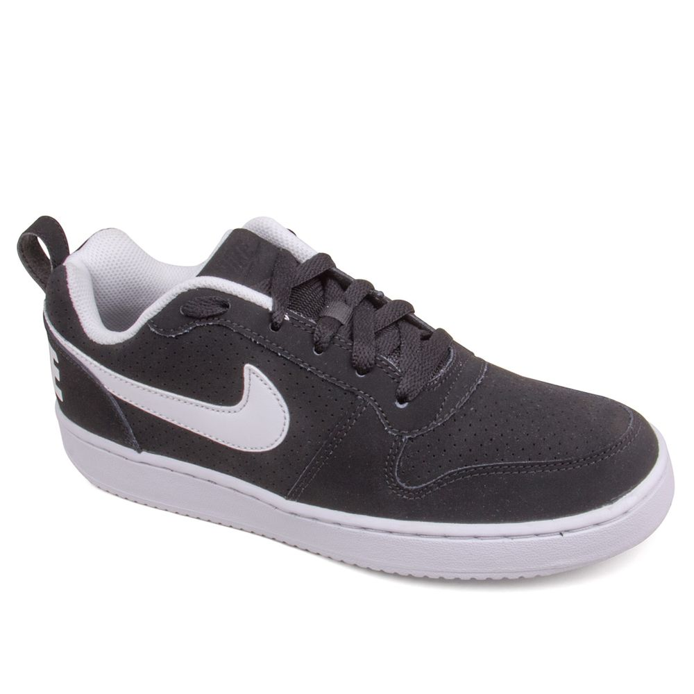 Tenis-Masculino-Nike-Recreation-Low-preto-branco