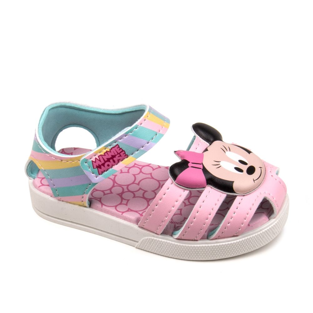 Papete-Infantil-Disney-Mickey-Minnie-21613---Branco-rosa